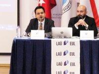 """LAÜ'de """"Yargıçlık/Savcılık Mesleğinde Güncel Gelişmeler"""" ele alındı..."""