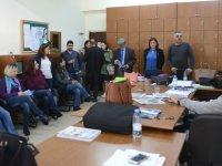 TDP'li adaylar Güzelyurt'daki okulları ziyaret etti