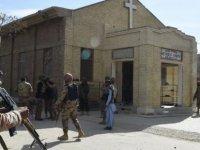 Pakistan'da kiliseye saldırı