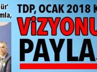 TDP, OCAK 2018 KATILIM VİZYONUNU PAYLAŞTI