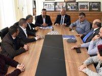 TDP milletvekili adayları, KTSYD'yi ziyaret etti