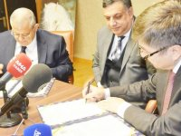 DAÜ ile Türksoy arasında  iş birliği protokolü imzalandı