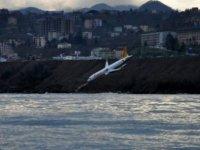Pegasus'a ait yolcu uçağı pistten çıktı