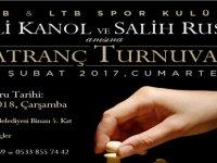 LTB'den Ali Kani Kanol ve Salih Ruso anısına santranç turnuvası