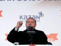 """Erdoğan: """"ABD sınırımızda terör ordusu kuruyor"""""""