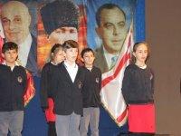 TED Kuzey Kıbrıs Koleji'nde Dr. Fazıl Küçük'e duygusal anma