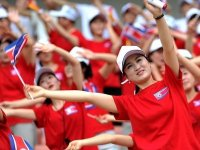 K. Kore'den, G. Kore'deki Olimpiyatlar'a 230 kişilik ponpon kız gönderme teklifi
