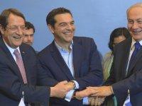 Güney Kıbrıs, Yunanistan ve İsrail ortak tatbikatları sürüyor