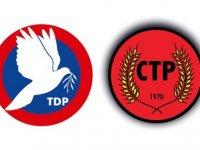 TDP ve CTP yetkili organları bu akşam toplantıya çağrıldı
