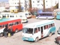 Toplu taşıma hizmeti yok, vatandaş mağdur!