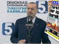 """Erdoğan'dan """"Afrika"""" öfkesi: """"Pespaye bir gazete"""""""