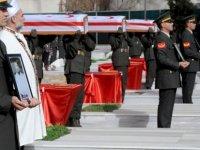 Ayvasıllı 8 kayıp Şehit, askeri törenle defnedildi