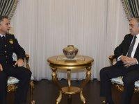 Cumhurbaşkanı Mustafa Akıncı polis genel müdürünü saraya çağırdı