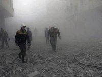 Suriye ve Rusya'nın hava saldırılarında en az 70 sivil ölü