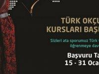 """""""Geleneksel Türk Okçuluğu"""" kursu düzenleniyor"""