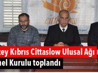 Kuzey Kıbrıs Cittaslow Ulusal Ağı Genel Kurulu toplandı
