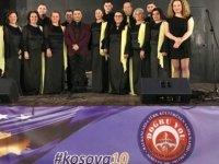 Beyarmudu Belediyesi Türk Sanat Müziği Korosu Priştine'de Kosova Bağımsızlık Yıl Dönümü Konseri'ne katıldı
