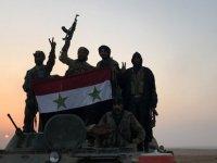 Suriye ordusu-Hama'Suriye hükümet güçleri, topçu atışlarına rağmen Afrin'e girdi'