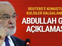 Karamollaoğlu Reuters'e konuştu flaş Abdullah Gül açıklaması