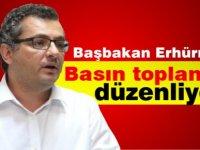 Başbakan Erhürman basını bilgilendirme toplantısı düzenliyor