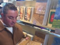 Hasan Çakmak Hollanda'da kitaplarını tanıttı