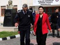 Baybars, Merkezi Cezaevi'nde incelemelerde bulundu