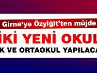 Eğitim ve Kültür Bakanı Özyiğit'ten müjde.. Girne'ye iki yeni okul yapılacak