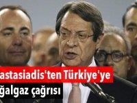 Anastasiadis'ten Türkiye'ye doğalgaz çağrısı