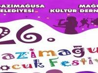 26. Gazimağusa Çocuk Festivali 26 Mart'ta başlıyor