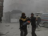 """Suriye hükümeti sivillere bildiri attı: """"Doğu Guta'yı terk edin"""""""