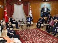 Başbakan Erhürman TÜRKONFED temsilcilerini kabul etti