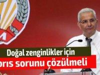 """Kiprianu: """"Doğal zenginlikler için Kıbrıs sorunu çözülmeli"""""""