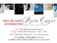 Büyükişliyen'in sergisi Girne Belediyesi Sanat Galerisi'nde açılıyor