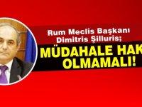 """Şilluris: """"Kıbrıs sorununa Türkiye'nin müdahale hakkının olmayacağı bir çözüm bulunmalı"""""""