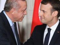 """Macron'dan Erdoğan'a: """"Suriye ateşkesi Afrin'i de kapsıyor"""""""