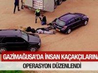Gazimağusa'da insan kaçakçılarına operasyon düzenlendi
