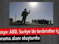 Rusya: ABD, Suriye'de teröristler için koruma alanı oluşturdu