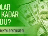 Dolar kuru bugün kaç lira? Tansiyon düşmüyor