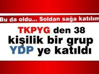 TKP-YG'den YDP'ye 38 kişi katıldı
