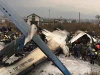 Nepal'de düşen yolcu uçağında 38 kişi hayatını kaybetti