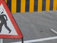 Üç kavşak hafta sonu trafiğe kapalı olacak