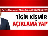 Tigin Kişmir açıklama yaptı