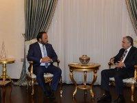 Cumhurbaşkanı Akıncı, Sadıkoğlu'nu kabul etti