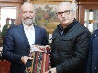 Günsel, Sivas Belediyesi İle Sivas Şehit Aileleri ve Gaziler Derneği Heyetini Kabul Etti
