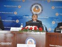 """DAÜ'de """"18 Mart Çanakkale Zaferi ve Şehitleri Anma""""paneli düzenlendi"""