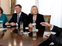 Cumhurbaşkanı Akıncı, Spehar'ı kabul etti