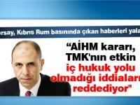 """""""AİHM kararı, TMK'nın etkin iç hukuk yolu olmadığı iddialarını reddediyor"""""""