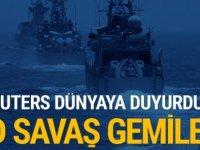 Reuters dünyaya duyurdu! ABD savaş gemisi...