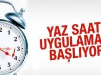 Başbakan Tufan Erhürman, yaz saati uygulamasının bu Pazar sabahı başlayacağını duyurdu