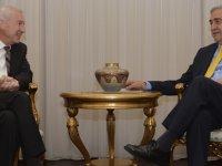 Akıncı Almanya'nın Lefkoşa Büyükelçisi'ni kabul etti